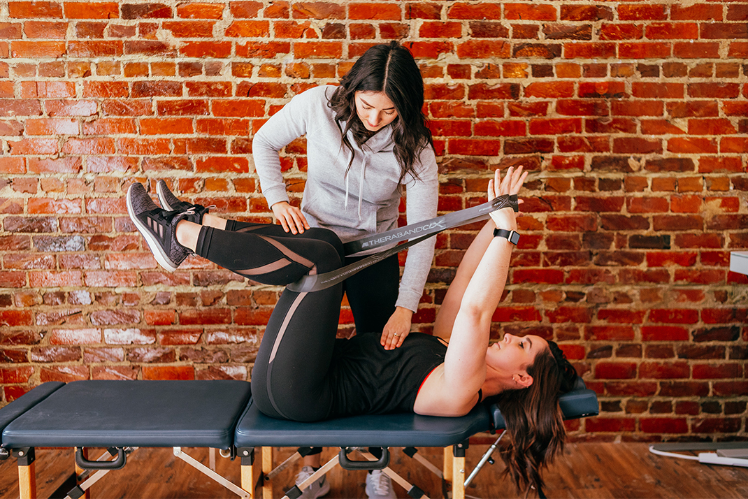 Dr. Tracey Dalton Rehab Stretches and Exercises for Pain Relief at Harvest Chiropractic & Wellness. Chiropractor in Springfield, Omaha, and Lincoln, NE.